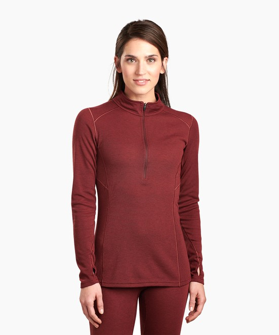 KÜHL W's Akkomplice™ Zip Neck in category Women's Baselayer