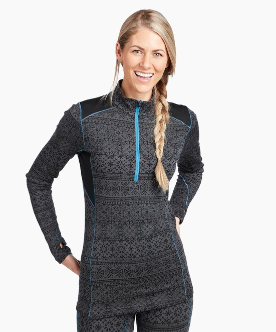 KÜHL Kaskade Zip Neck in category Women's Long Sleeve