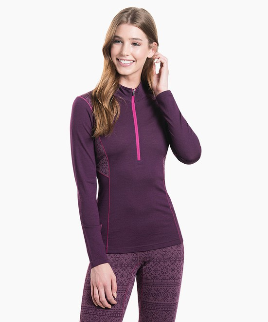 KÜHL Kaskade Zip Neck in category Women's Baselayer