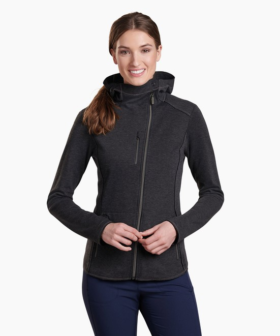 KÜHL Freethinkr Asymmetrik Hoody in category Women's Long Sleeve