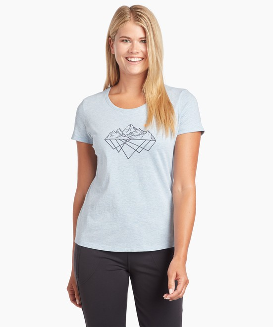 KÜHL Mirrored Mountains Graphic T in category Women's Short Sleeve