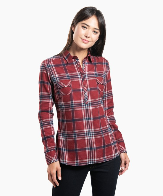 KÜHL Keeva Flannel in category Women's Long Sleeve