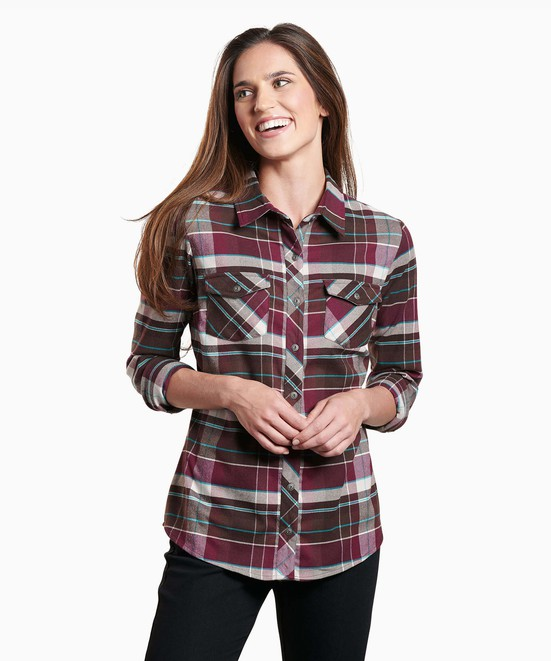 KÜHL Greta™ Flannel in category Women's Long Sleeve