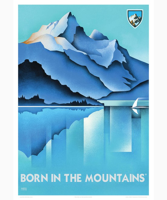 KÜHL Print Born In The Mountains™ in category Kühl Art