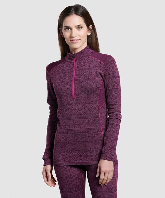 KÜHL Kaskade Zip Neck in category Women Baselayer