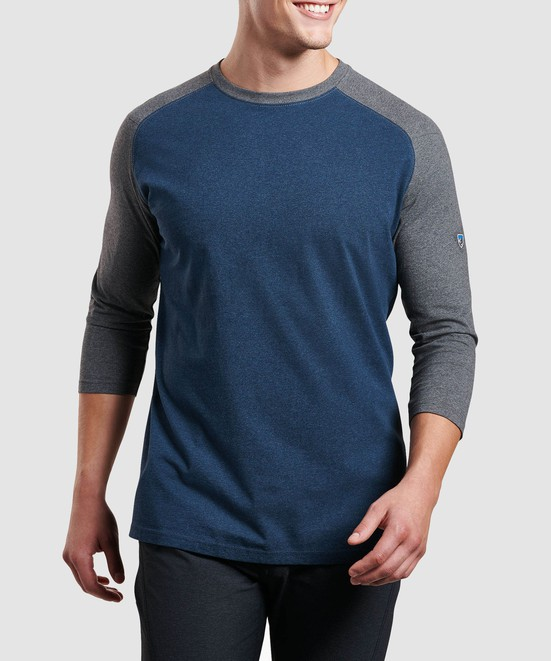 KÜHL Stir Baseball Tee in category Men Long Sleeve