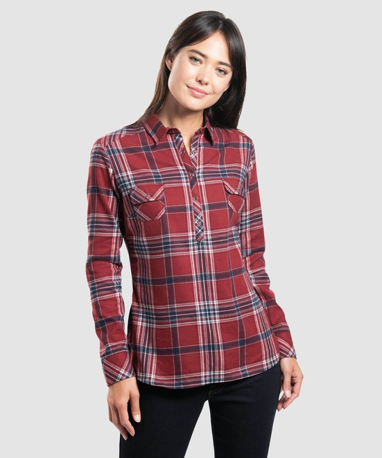 KÜHL Keeva Flannel in category Women Long Sleeve