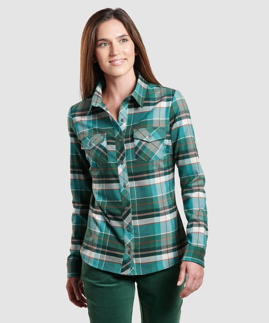 KÜHL GRETA™ FLANNEL in category Women Long Sleeve