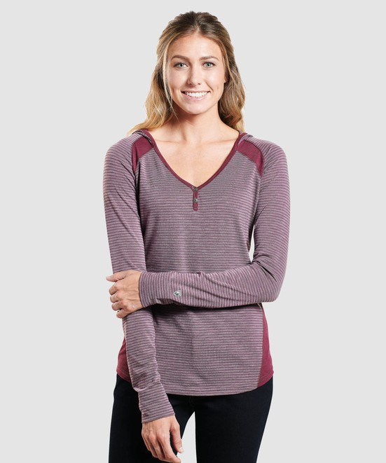 KÜHL TRISTA™ HOODY in category Women Long Sleeve
