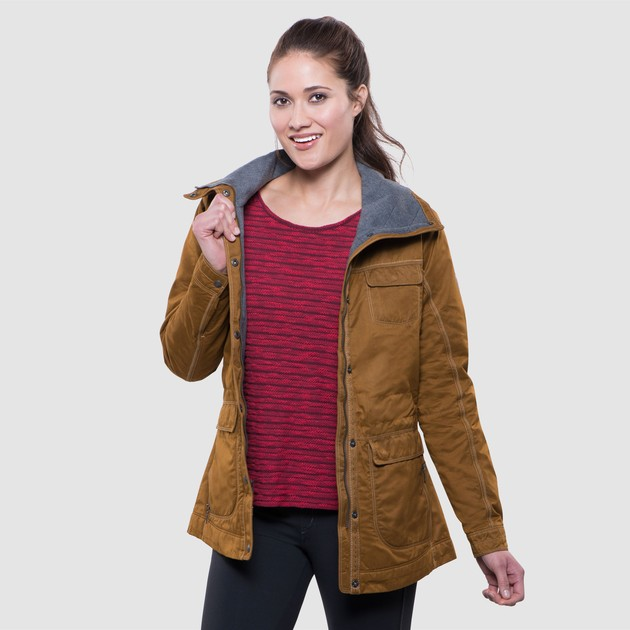 K Hl Clothing Lena Insulated Jacket In Women Outerwear
