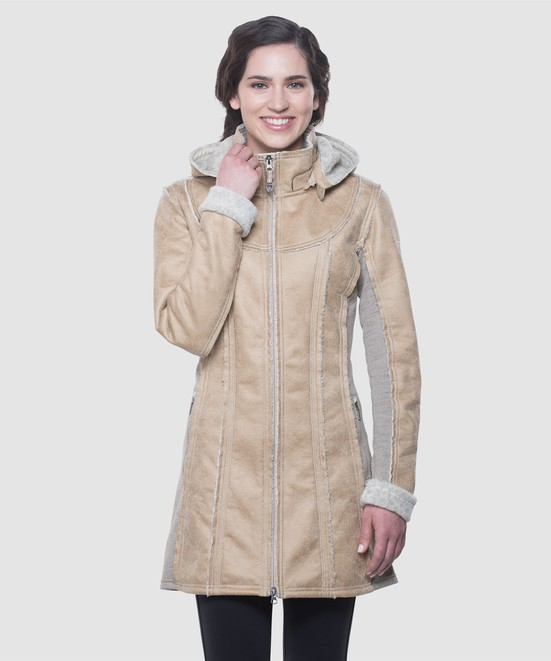 KÜHL W'S DANI™ SHERPA TRENCH in category Women New Arrivals