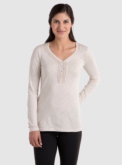 KÜHL VEGA™ LS HENLEY in category Women Long Sleeve