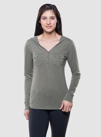 KÜHL SORA™ HOODY in category Women Long Sleeve