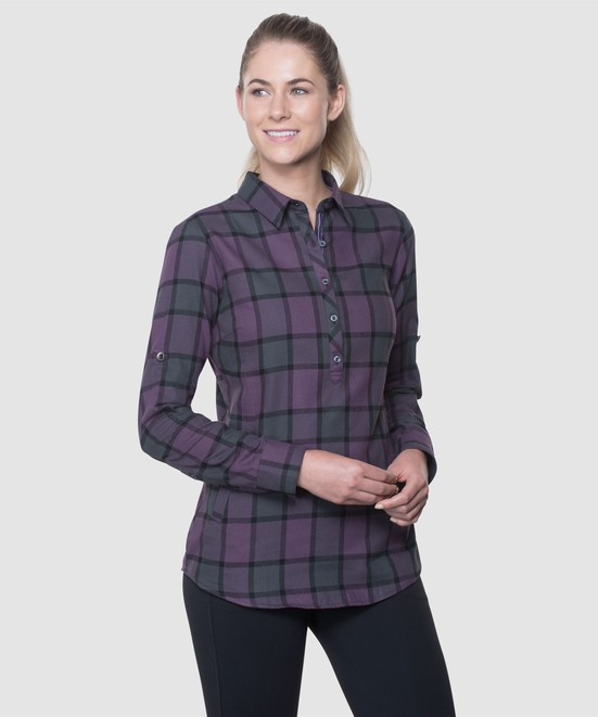 KÜHL KINSLEY™ FLANNEL in category Women Long Sleeve