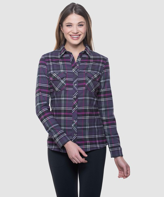 KÜHL GRETA™ FLANNEL in category Women New Arrivals