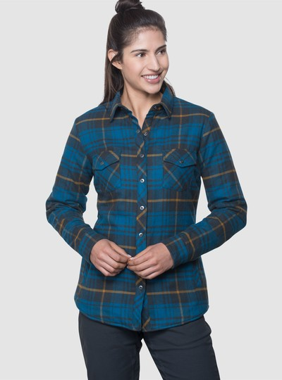 KÜHL KOTA™ LINED FLANNEL in category Women Long Sleeve