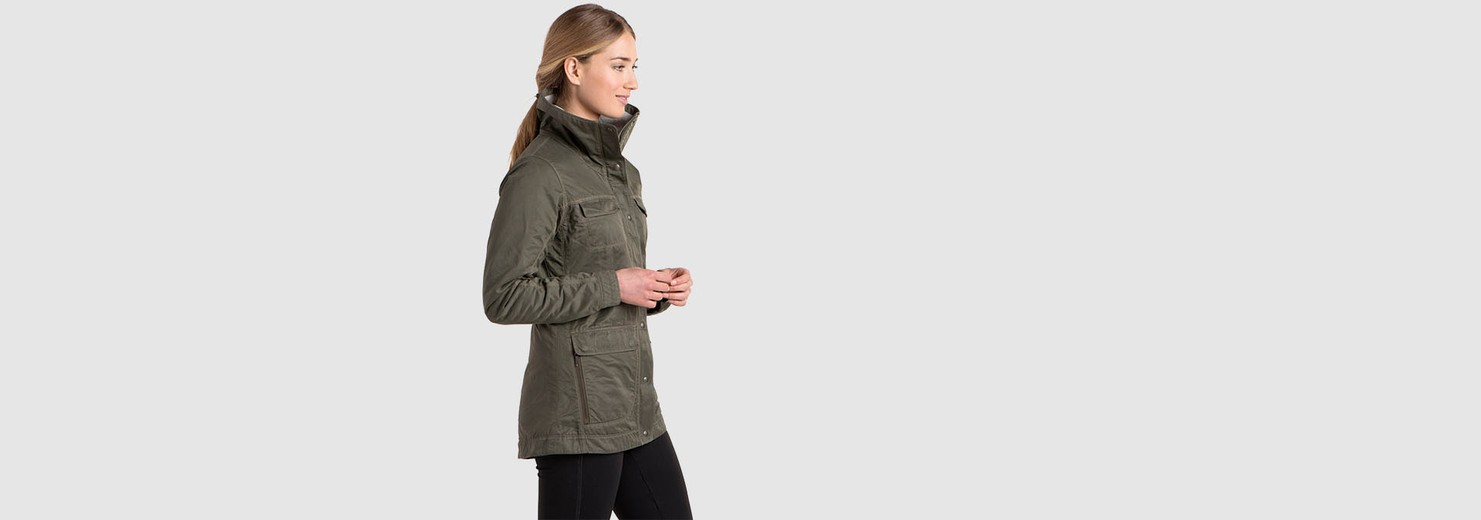 K 220 Hl Clothing Lena Insulated Jacket In Women Outerwear