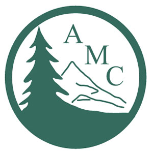 AMC blue and white logo