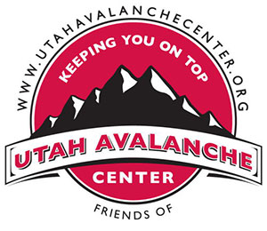Utah Avalanche Center - Keeping you on top logo