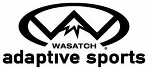 Wasatch Adaptive Sports black and white logo
