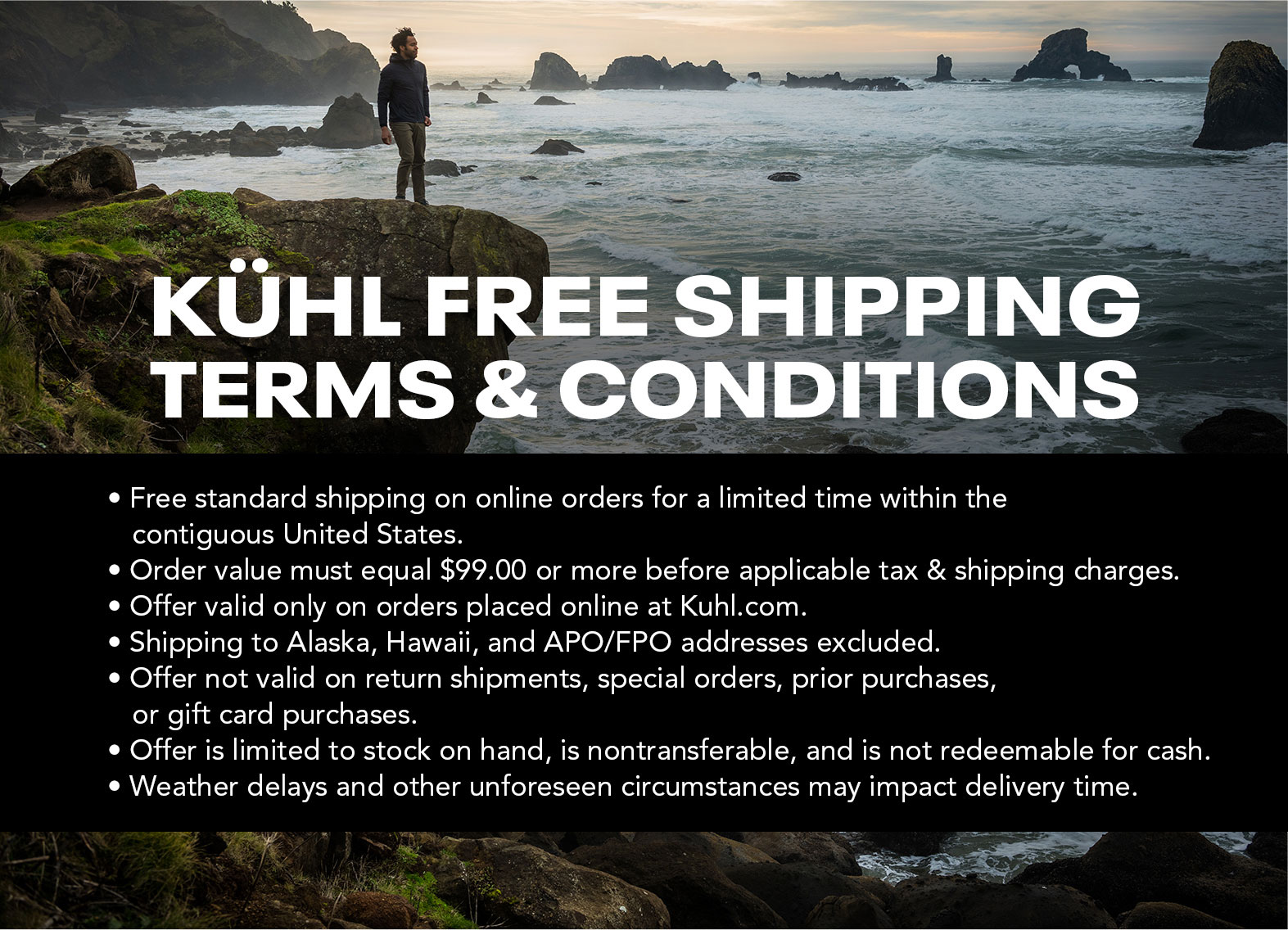Free Shipping Terms and Conditions
