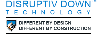 Disrupiv Down Technology - Different by design, different by construction logo