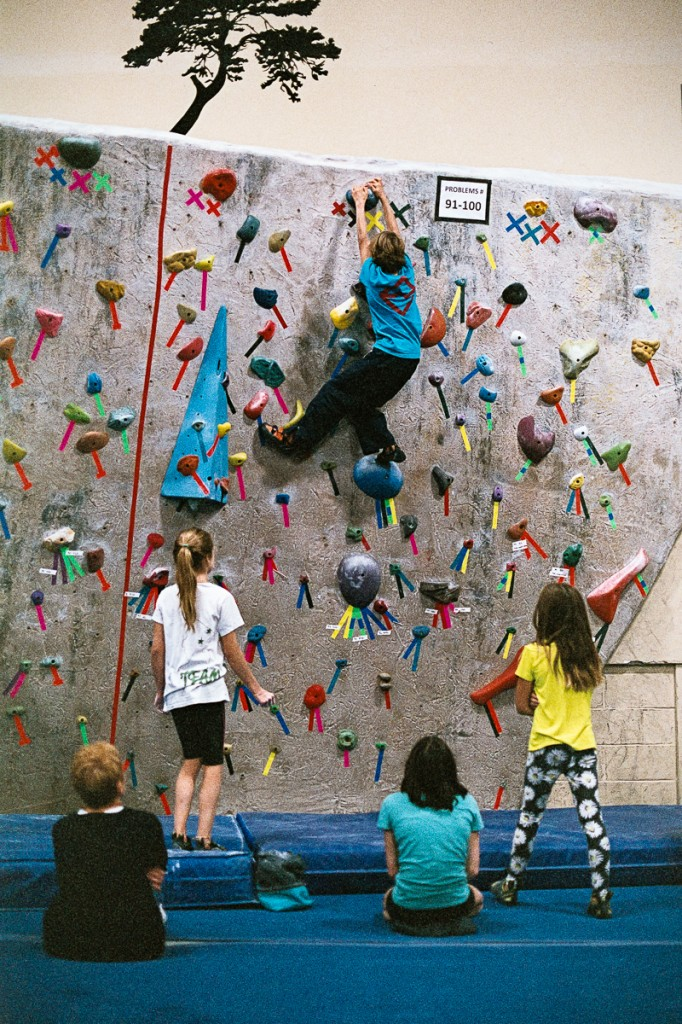 Climbers are permitted to work together and discuss beta